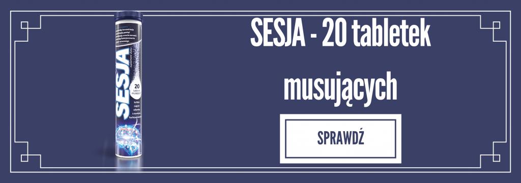 SESJA - tabletki musujące