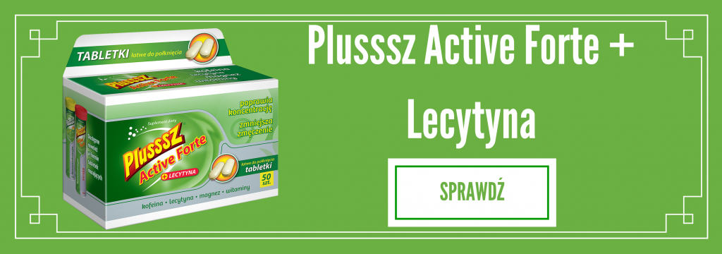Plusssz Active Forte + Lecytyna