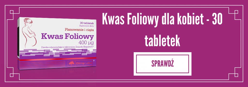 Kwas Foliowy - 30 tabletek