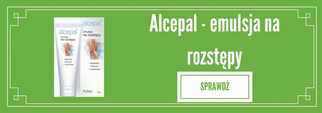 Alcepal - emulsja na rozstępy