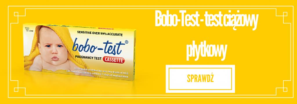 Bobo-test - test ciążowy płytkowy
