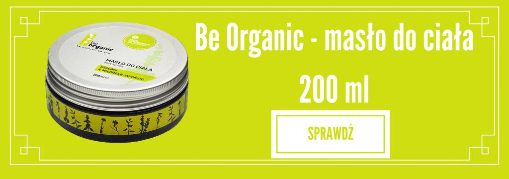 Be Organic - masło do ciała